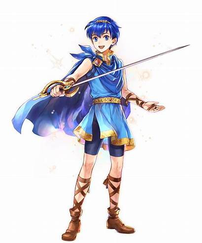 Marth Emblem Fire Heroes Young Hero Face