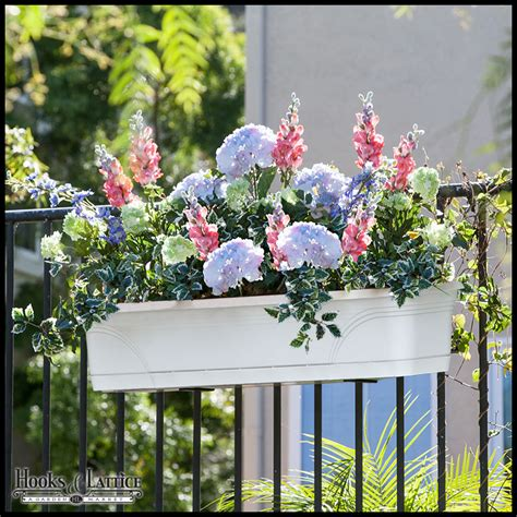 Banister Planters by Medallion All In One Railing Planter Kit