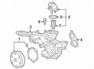 Gmc Yukon Xl Thermostat  Outlet  Coolant  Engine