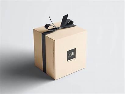 Gift Box Mockup Behance Cf