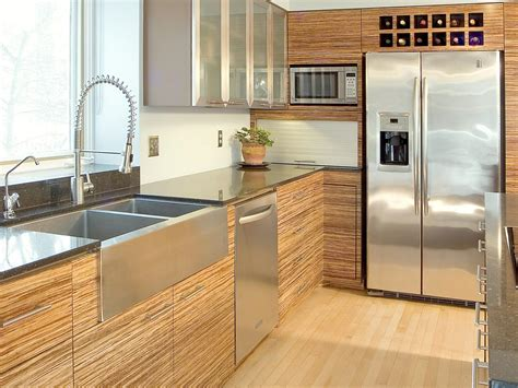 design of modern kitchen modern kitchen cabinets pictures ideas tips from hgtv 6597
