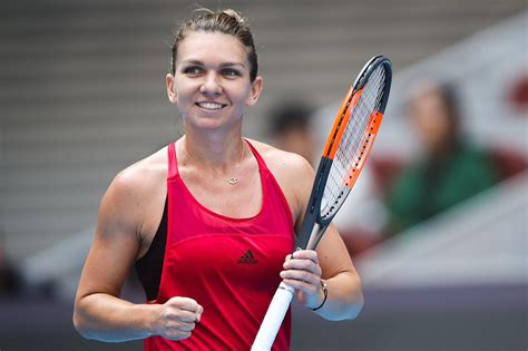 Homepage of Simona Halep