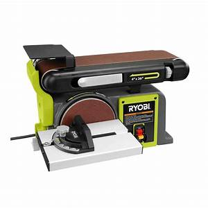 Ryobi 120-Volt Bench Sander, Green-BD4601G - The Home Depot