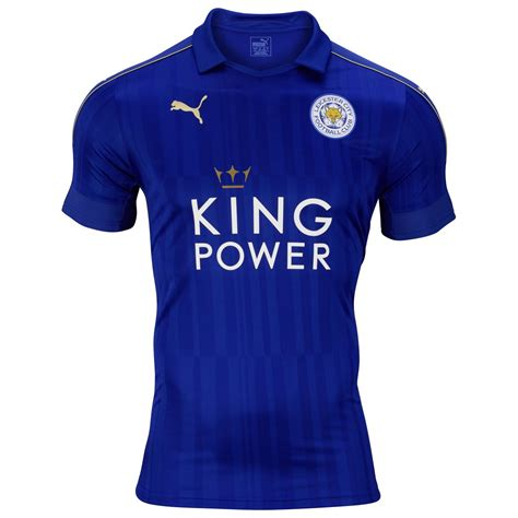 Leicester City 16/17 Puma Home Kit | 16/17 Kits | Football ...
