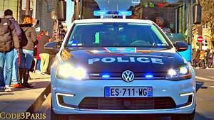 Nouvelle Voiture De Police : nouvelle voiture de police electrique dans paris vw e golf new police car youtube ~ Medecine-chirurgie-esthetiques.com Avis de Voitures