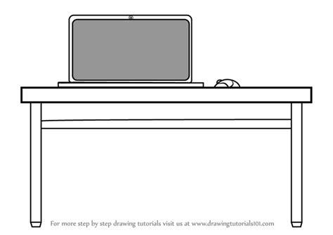 step  step   draw laptop desk drawingtutorialscom