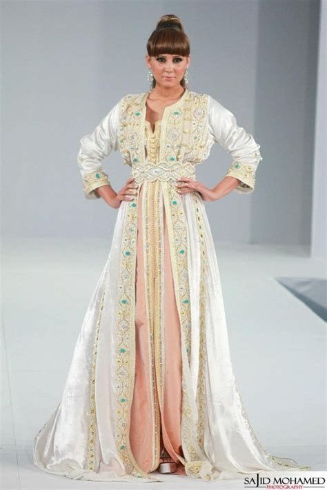 white takchita Caftan Moroccan dress (7)   TrendyOutLook.Com