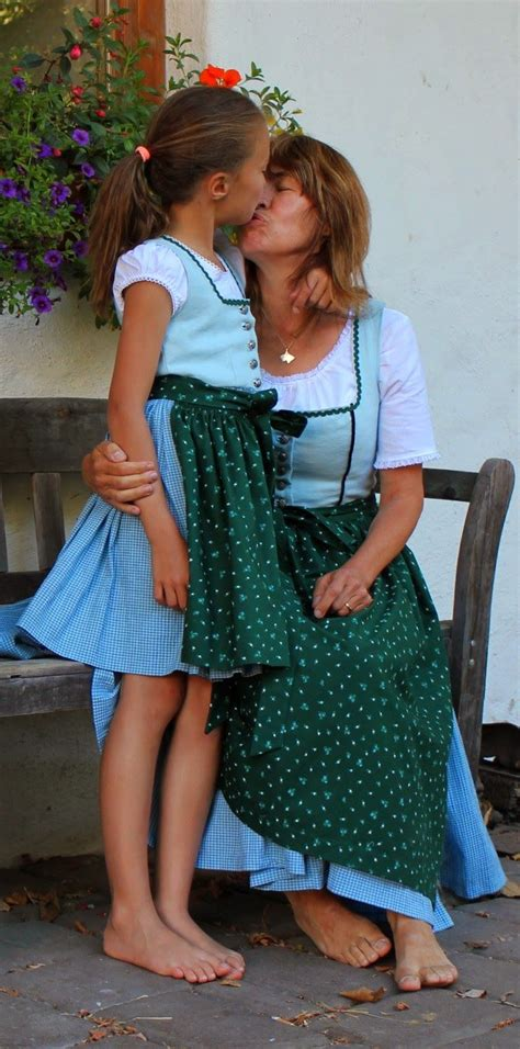 mama kind dirndl im partnerlook