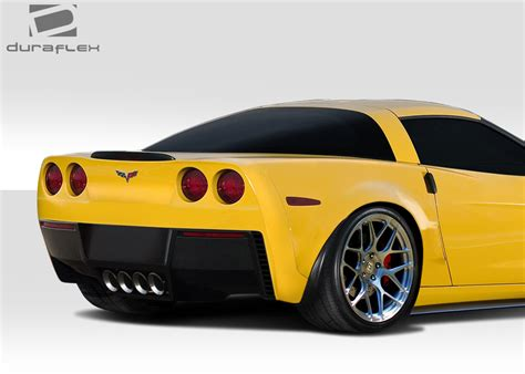 2013 C6 Corvette by 2005 2013 Chevy Corvette C6 Duraflex Stingray Z Rear