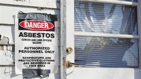 buying  selling  property  asbestos