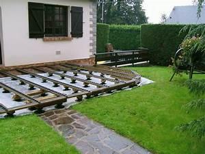 Decoration Terrasse En Bois : deco jardin terrasse bois ~ Melissatoandfro.com Idées de Décoration