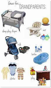 Baby gear for grandparents house - check out the full post ...