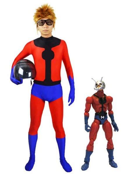 Spandex Marvel Superhero Ant Man Superhero Costume