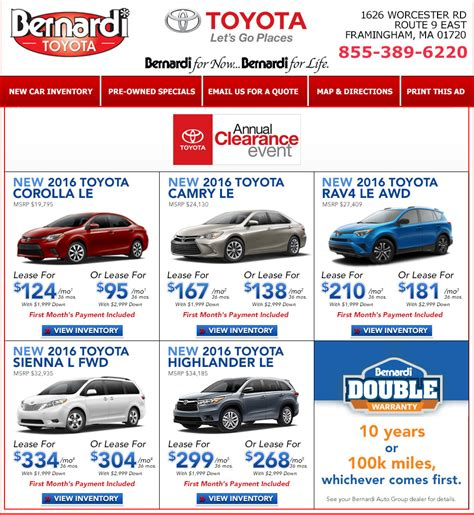 toyota leasing company toyota lease deals ma 2018 2019 car release and reviews
