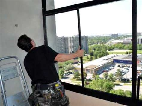 Enclosing Balcony by Installation Of A Balcony Enclosure In Mississauga Ontario