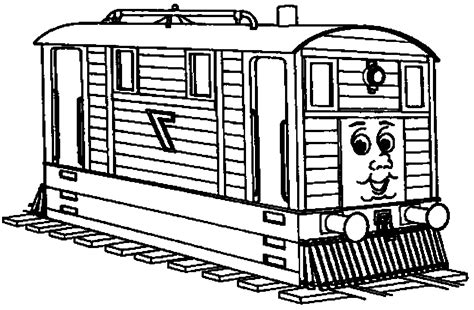 thomas  train coloring pages  printables