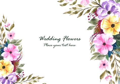 Wedding invitation card editable with background chevron. Wedding decorative flowers frame with invitation card background - Download Free Vectors ...
