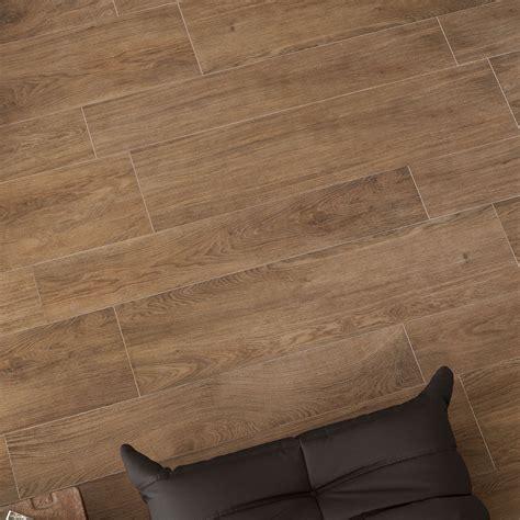 trendwood oak glazed porcelain rectified floor tile