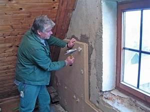 Dämmung Mit Holzfaserplatten : innend mmung mit holzfaserplatten bauhandwerk ~ Lizthompson.info Haus und Dekorationen