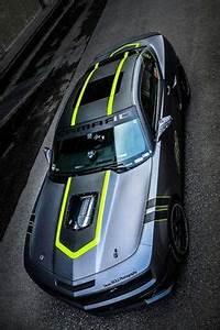 Black & Neon Green Camaro