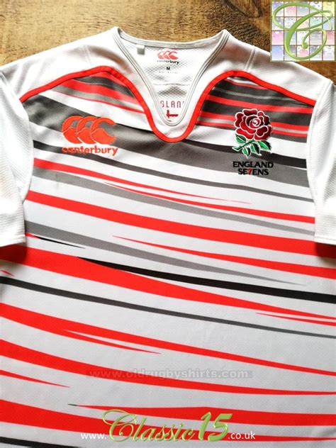 england sevens  rugby shirt   added