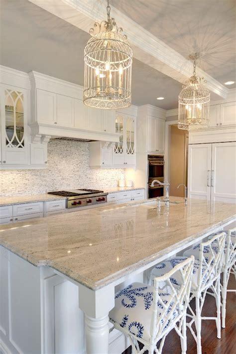 gray  white granite countertops transitional