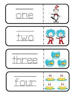 number words activities images number words