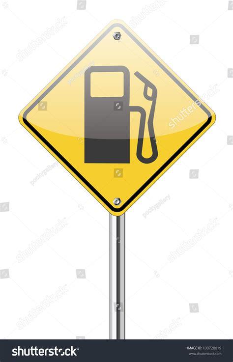 gap inc portal help desk gas station sign on white stock vector illustration