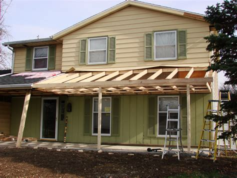 Home Design Ideas Construction by Front Porch Roof Framing Details Porches Ideas