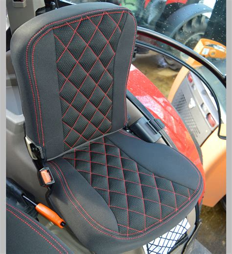 case ih tractor tailored seat covers  grammer dynamic