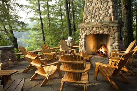 outdoor fireplace chairs terrific adirondack chair cushions sale decorating ideas gallery in patio rustic design ideas