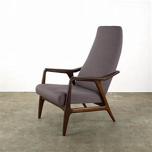 Fauteuil Vintage Scandinave : fauteuil vintage scandinave en teck et tissu mauve 1960 ~ Dode.kayakingforconservation.com Idées de Décoration