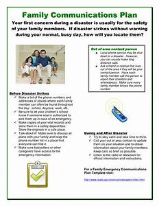 8 best images of caring pamphlet template printable With emergency communications plan template