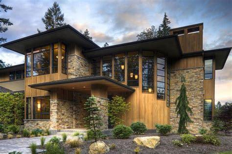 prairie style garage plans contemporary prairie style home modern style house plan 4 beds 4 5 baths 4750 sq ft plan
