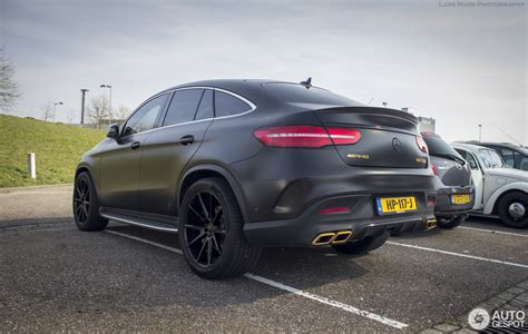From the outside, the heavily contoured power dome design hints at the immense power delivery. Mercedes-AMG GLE 63 S Coupé - 10 March 2016 - Autogespot