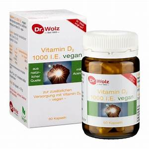 Vitamin D Spiegel Berechnen : vitamin d2 vegan kapseln ~ Themetempest.com Abrechnung