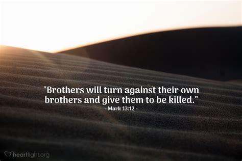 family betrayal mark   jesus
