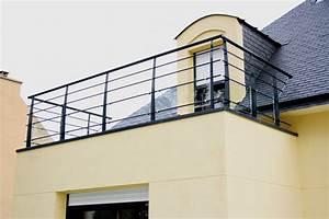 Garde Corps Contemporain : garde corps ext rieurs moderne terrasse en bois et balcon other metro par escaliers potier ~ Melissatoandfro.com Idées de Décoration