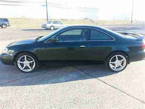 sell used 2001 acura 3 2 cl type s automatic salvage title runs and drives great in basking