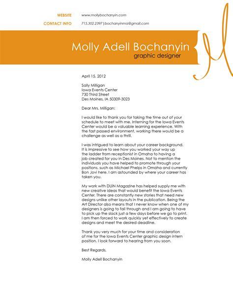 letter sle application letter for graphic designer