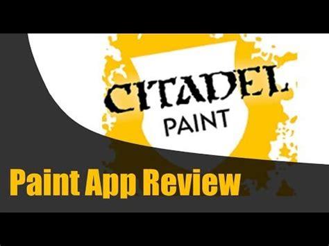 citadel paint app review