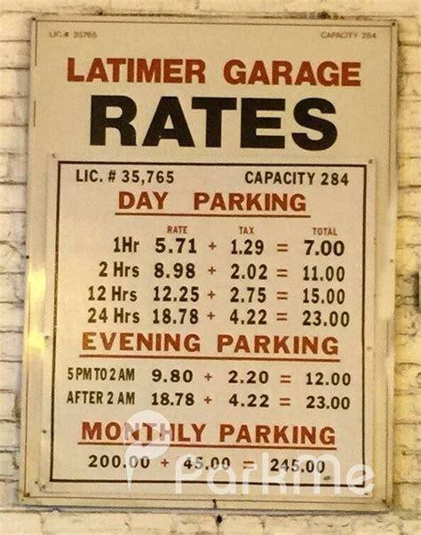 philadelphia parking garage rates latimer garage parking in philadelphia parkme