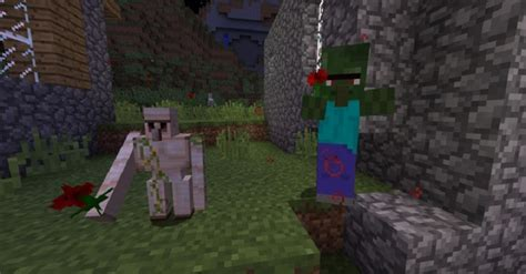 baby mobs mod minecraft golem iron zombie villagers give normal poppy into turn witch companion pickup them ocelot mods spawns