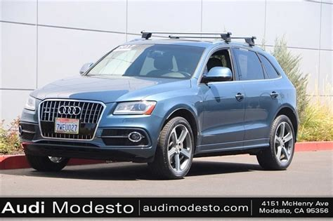 certified pre owned vehicle specials audi modesto