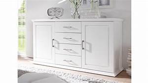 Sideboard Landhaus Weiß : sideboard landhaus emma kommode kiefer teilmassiv wei ~ Eleganceandgraceweddings.com Haus und Dekorationen