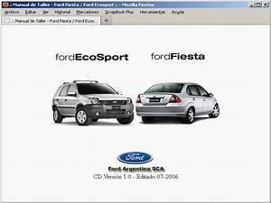 Ford Ecosport Manual De Taller