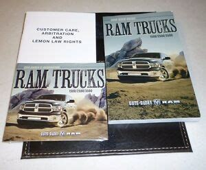 dodge ram user guide owners manual set case  dvd