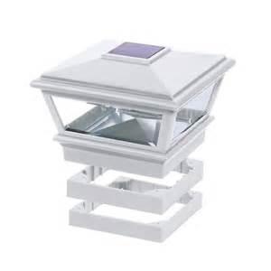 deckorators traditional solar versacap post cap 6x6
