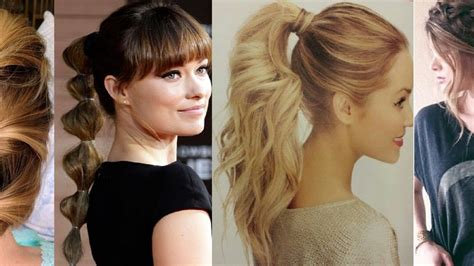 best ponytail hairstyles for medium hairs