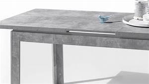 Esstisch Weiß Grau : esstisch stone tisch beton optik grau und wei hochglanz 140 180x80 cm ~ Markanthonyermac.com Haus und Dekorationen